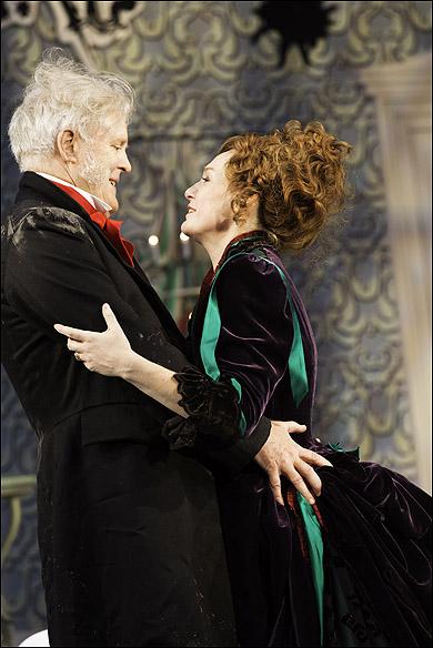 John Lithgow and Nancy Carroll