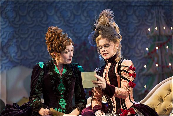 Nancy Carroll and Christina Cole