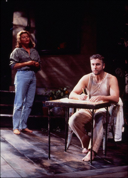 Marsha Mason and William Petersen