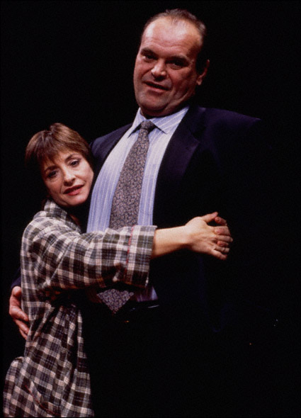 Patti LuPone and Jack Willis