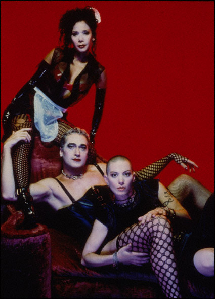 Daphne Rubin-Vega, Tim Hewitt, and Joan Jett in a promotional shot