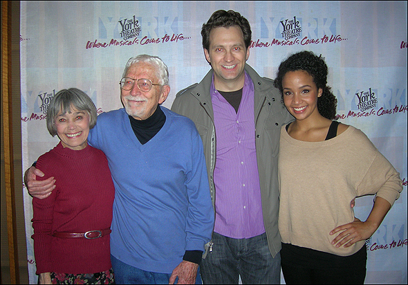 Susan Watson, Tom Jones, Graham Rowat and Stephanie Umoh