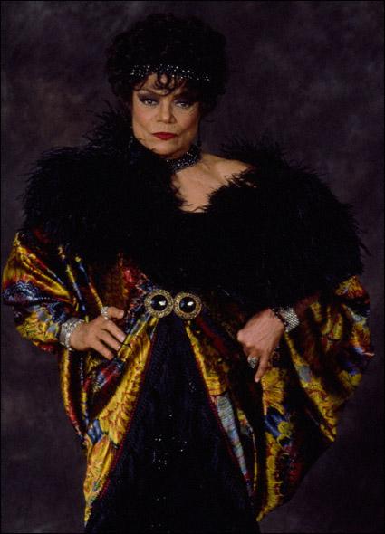Eartha Kitt in a promotional shot