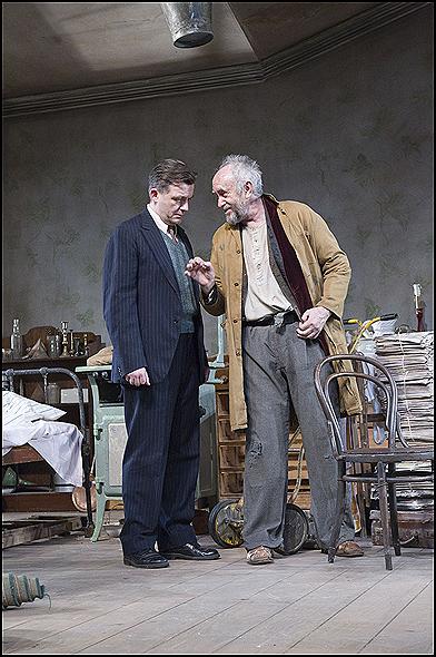 Alan Cox and Jonathan Pryce