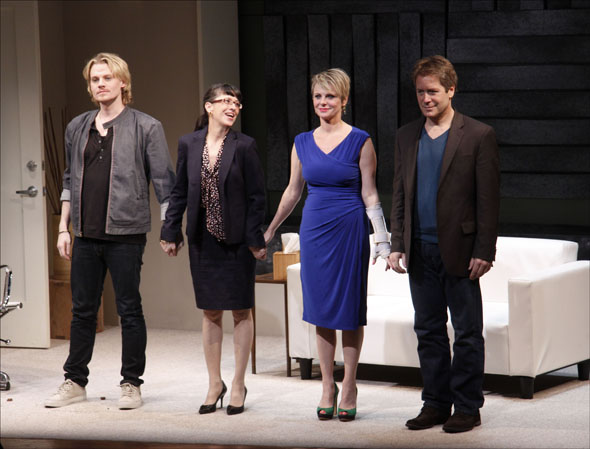 Jeffrey Carlson, Jan Leslie Harding, Angelica Page and Laurence Lau