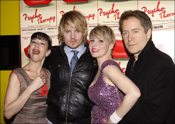 Jan Leslie Harding, Jeffrey Carlson, Angelica Page and Laurence Lau