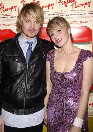 Jeffrey Carlson and Angelica Page