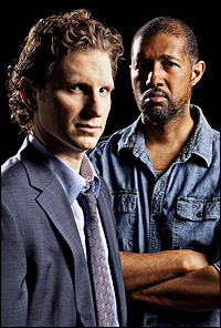 Sebastian Arcelus and Jake Brigance