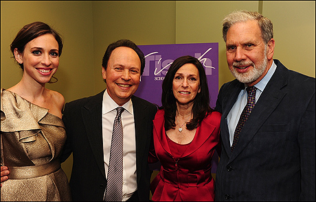 Lindsay Crystal Miller, Billy Crystal, Janice Crystal and John Sexton