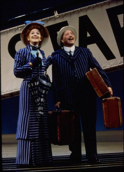 Victoria Clark and Bill Buell in Titanic