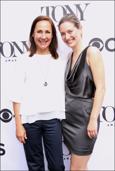 Laurie Metcalf and Zoe Perry