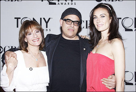 Patti LuPone, David Yazbek and Laura Benanti