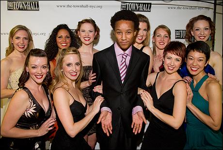 """Kendrick Jones and the """"Siegfield Follies"""" Girls"""