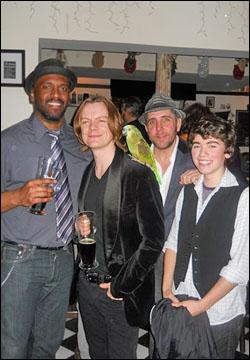 Lindsay Smiling, Philip Willingham, Tom Beckett and Noah Galvin