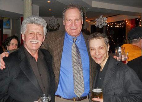B.H. Barry, Jay O. Sanders and Ken Shatz