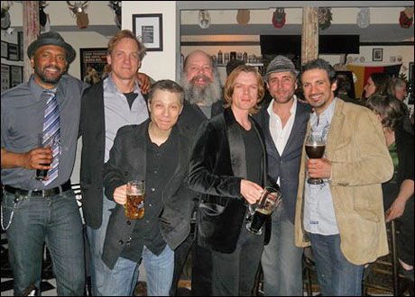 Lindsay Smiling, Steve Blanchard, Ken Shatz, John Ahlin,