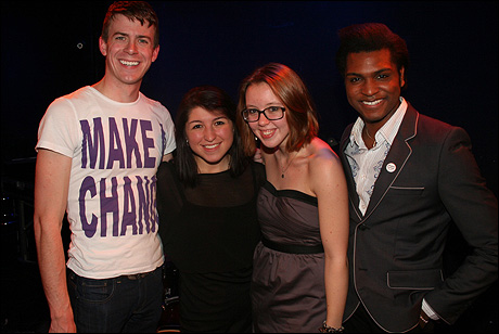 Will Van Dyke, Maria Theo, Ryan Flynn and Drexel D. Heard II