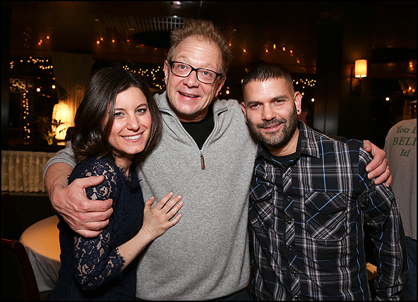 Susan Pourfar, Jeff Perry and Guillermo Diaz