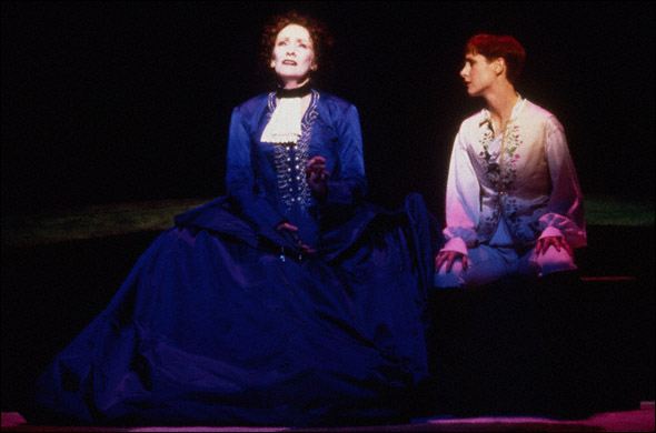 Betty Buckley and Susan Egan