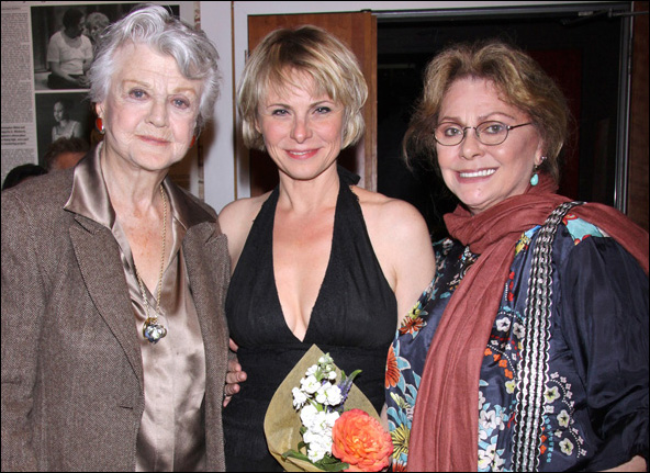 Angela Lansbury, Angelica Page and Elizabeth Ashley