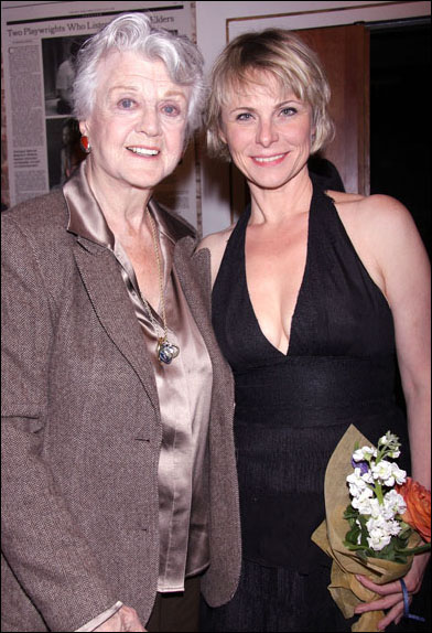 Angela Lansbury and Angelica Page