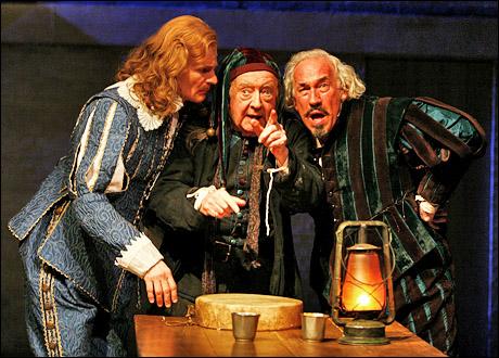 Charles Edwards, David Ryall and Simon Callow