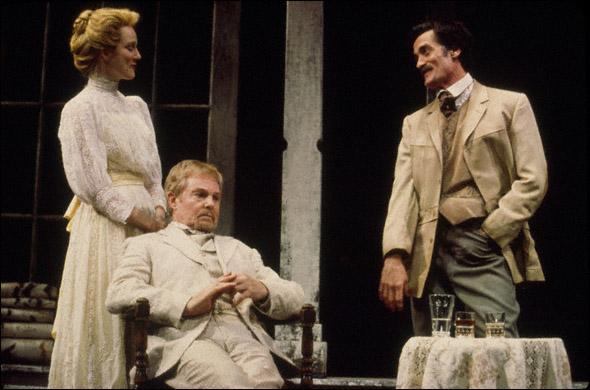 Laura Linney, Derek Jacobi, and Roger Rees