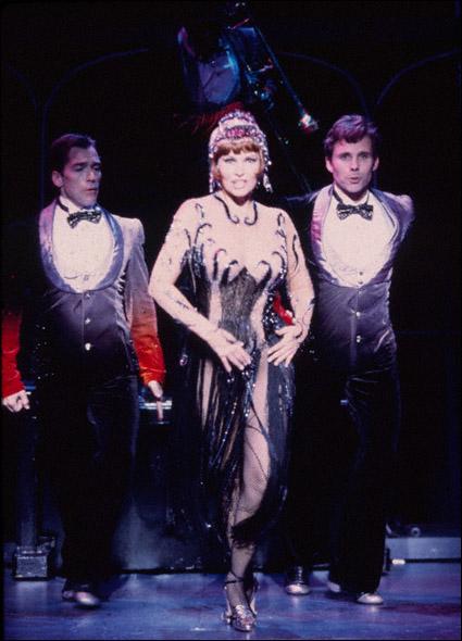 Arte Phillips, Raquel Welch, and Bill Burns