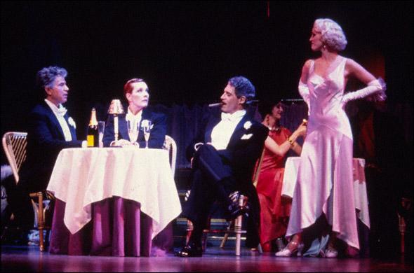 Tony Roberts, Julie Andrews, Michael Nouri, and Rachel York