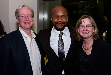 Eugene Bissell, Forrest McClendon and Joann Bissell