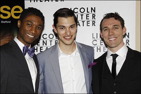 Jude Sandy, Zach Villa and Alex Hoeffler
