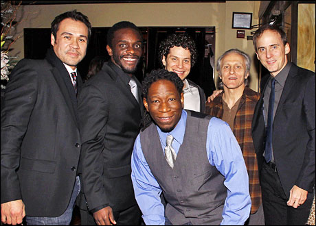Michael Balderrama, Chris Chalk, Nathan Louis Jackson, Thomas Kail, David Patrick Kelly and Neal Huff