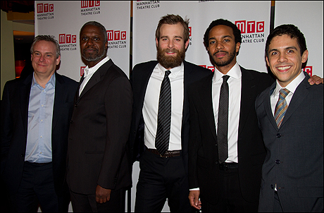 Doug Hughes, Andre Braugher, Jay Wilkinson, Andre Holland and Matthew Lopez