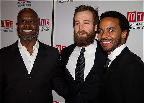 Andre Braugher, Jay Wilkison and Andre Holland