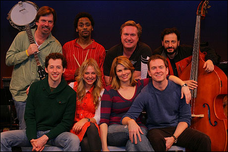 Top Row: Scott Wakefield, Jesse Means, Matt Castle and Louis Tucci. Bottom Row: Josh Grisetti, Jenni Barber, Heidi Blickenstaff and Adam Monley