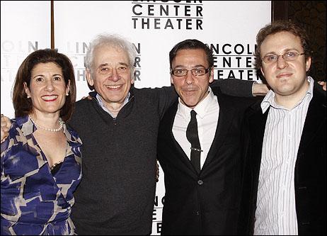 Jan Levy Tranen, Austin Pendleton, Michael Halberstam and Joshua Schmidt
