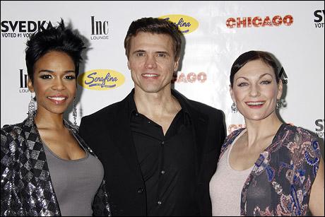 Michelle Williams, Brent Barrett and Terra C. MacLeod