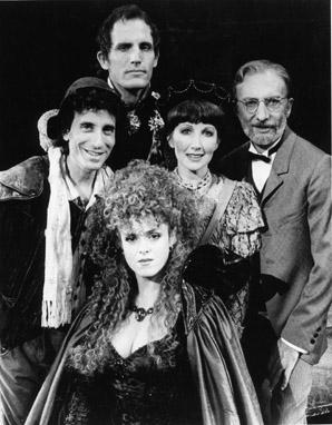 Chip Zien, Robert Westenberg, Bernadette Peters, Joanna Gleason and Tom Aldredge in Into the Woods 1987
