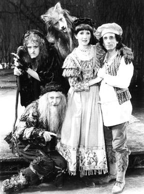 Bernadette Peters, Tom Aldredge, Robert Westenberg, Joanna Gleason and Chip Zien in Into the Woods 1987