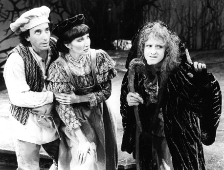 Chip Zien, Joanna Gleason and Bernadette Peters in the original Broadway production