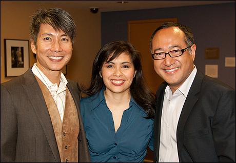 Jason Ma, Eileen Rivera and Alan Muraoka