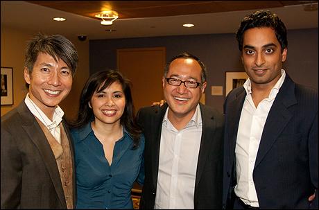 Jason Ma, Eileen Rivera, Alan Muraoka and Manu Narayan