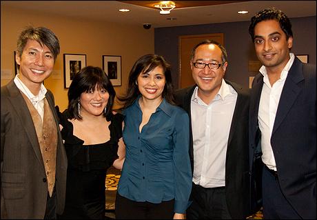 Jason Ma, Ann Harada, Eilen Rivera, Alan Muraoka and Manu Narayan