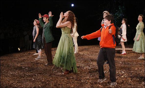 Jessie Mueller, Denis O'Hare, Donna Murphy, Jack Broderick and Cast
