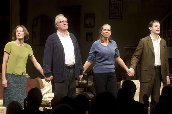 Carrie Coon, Tracy Letts, Amy Morton and Madison Dirks