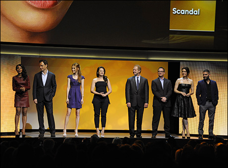 Kerry Washington, Tony Goldwyn, Darby Stanchfield, Katie Lowes, Jeff Perry, Joshua Malina, Bellamy Young, Guillermo Diaz