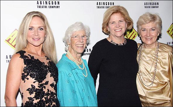 Sheila Burkert, Frances Sternhagen, Barbara Blair Randall and Jan Buttram