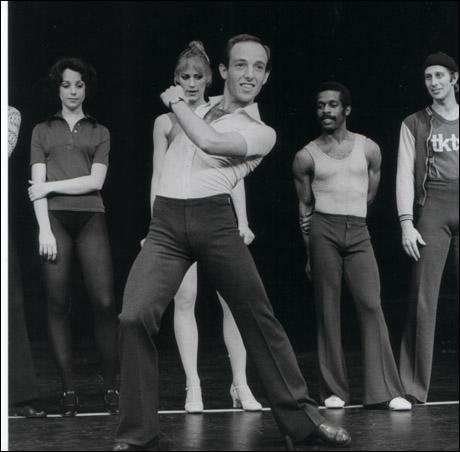 Wayne Cilento in the original Broadway production of A Chorus Line
