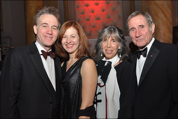 Boyd Gaines, Kathleen McNenny, Julie Dale and Jim Dale