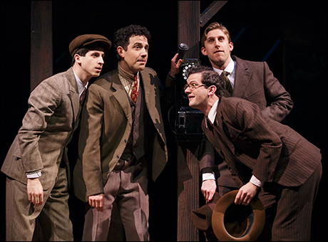 Steven Kaplan, Santino Fontana, Bob Stillman and Bill Army
